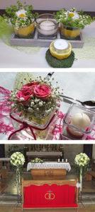 Blumenbinderei, Floristik, Kränze, Gestecke, Hochzeiten, Taufen, Geburtstage, Trauer, Beerdigungen, Trauerbinderei