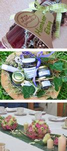 Workshop für Salze, Essige, Öle, Blumenbinderei, Floristik, Gestecke